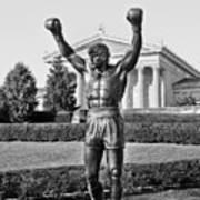Rocky Statue - Philadelphia Poster by Brendan Reals