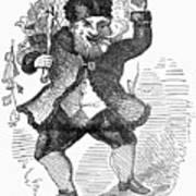 Santa Claus, 1849 Poster by Granger