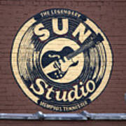 Sun Studio Memphis Tennessee Poster by Wayne Higgs