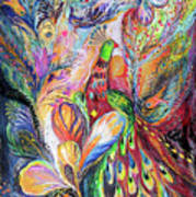 The King Bird Poster by Elena Kotliarker