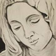 The Madonna Poster by Jean Billsdon