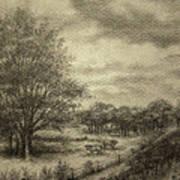 Wickliffe Landscape  Poster by Debi Frueh