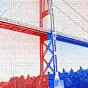 1000 Island International Bridge 2 Poster by Steve Ohlsen