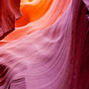 Antelope Canyon Poster by Sabino Parente