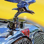1932 Alvis Hood Ornament Poster by Jill Reger