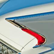 1960 Cadillac Eldorado Biarritz Convertible Taillight Poster by Jill Reger