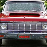 1964 Plymouth Savoy Hemi  Poster by Gordon Dean II