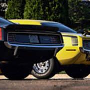 1970 Plymouth 'cuda 440 And Hemi Poster by Gordon Dean II