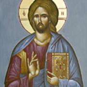 Christ Pantokrator Poster by Julia Bridget Hayes