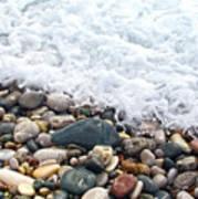 Ocean Stones Poster by Stelios Kleanthous