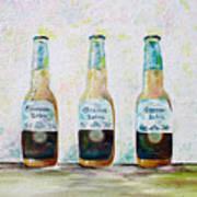 Three Amigos Poster by Barbara Teller