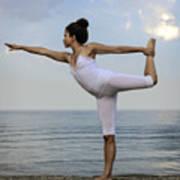 Yoga Poster by Joana Kruse
