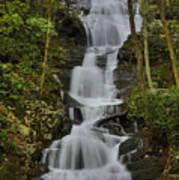 Buttermilk Falls Poster by Stephen  Vecchiotti