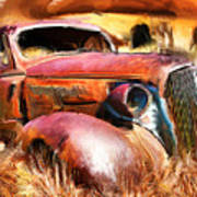 37 Chevy Poster by Tom Griffithe