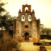 Mission Espada Poster by Iris Greenwell