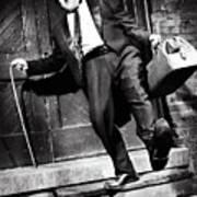 Charlie Chaplin Poster by Oleksiy Maksymenko