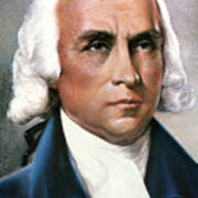 James Madison (1751-1836) Poster by Granger
