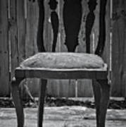 A Chair In Despair Poster by DigiArt Diaries by Vicky B Fuller