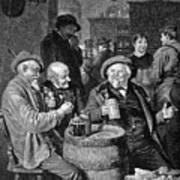 A German Tavern Poster by Granger