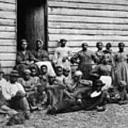 A Group Of Slaves Poster by Photo Researchers