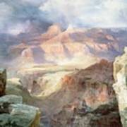 A Miracle Of Nature Poster by Thomas Moran