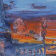 A Mystery Of Gods Poster by Steve Karol