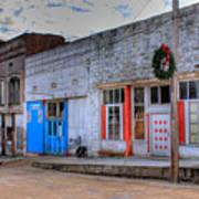 Abandoned Main Street Poster by Douglas Barnett