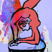 Acrobat 5 Poster by Adam Kissel