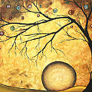Across The Golden River By Madart Poster by Megan Duncanson