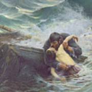 Adieu Poster by Alfred Guillou