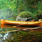 Adirondack Guideboat Poster by Frank Houck