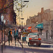 Afternoon Light Poster by Ryan Radke