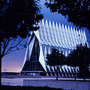 Air Force The Cadet Chapel Poster by GerMaine Photography
