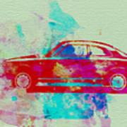 Alfa Romeo  Watercolor 2 Poster by Naxart Studio
