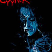 Alice Cooper Poster by Caio Caldas