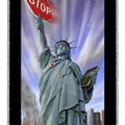 America On Alert II Poster by Mike McGlothlen