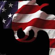 American Gun Poster by Gerard Yates