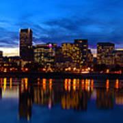 An Evening In Portland Poster by Brian Bonham