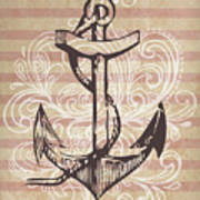 Anchor Poster by Adrienne Stiles