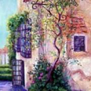 Andalucian Garden Poster by Candy Mayer