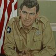 Andy Griffith Poster by Tresa Crain