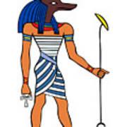 Anubis Poster by Michal Boubin