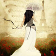 April In Paris Poster by Shanina Conway