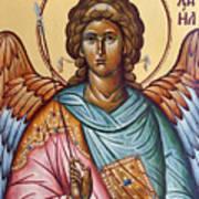 Archangel Michael Poster by Julia Bridget Hayes