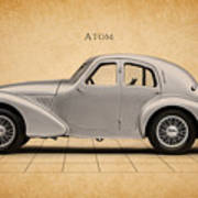 Aston Martin Atom Poster by Mark Rogan