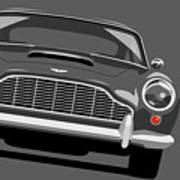 Aston Martin Db5 Poster by Michael Tompsett