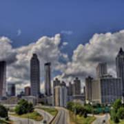 Atlanta Skyline Poster by Corky Willis Atlanta Photography