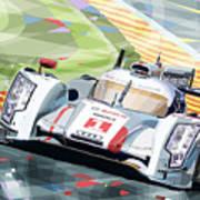 Audi R18 E-tron Quattro Poster by Yuriy  Shevchuk