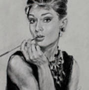 Audrey Hepburn Poster by Ylli Haruni