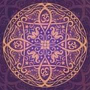 Aum Awakening Mandala Poster by Cristina McAllister